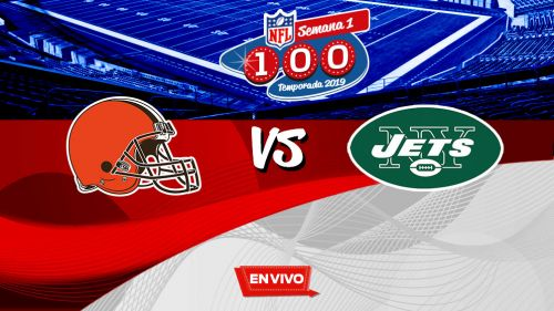 EN VIVO y EN DIRECTO: Cleveland Browns vs New York Jets