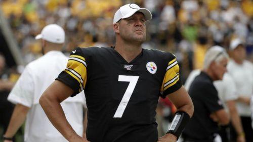 Ben Roethlisberger, en un juego con Steelers