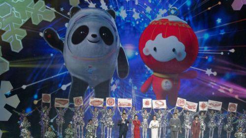 Mascotas de Beijing 2022 son presentadas