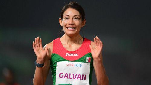 Laura Galván en su participación en Juegos Panamericanos