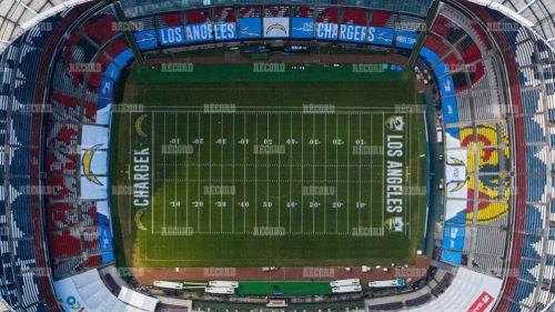 Así luce el Estadio Azteca previo la partido de NFL México