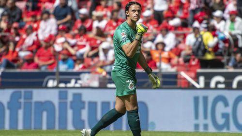 Antonio Rodríguez en un partido en Toluca