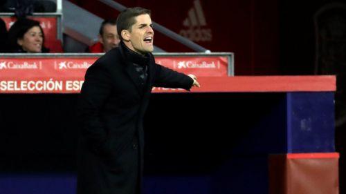 Roberto Moreno durante un juego de España
