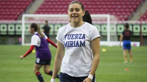 Norma Palafox durante el juego de la jornada 8 del Clausura 2019