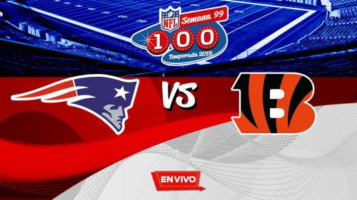 EN VIVO Y EN DIRECTO: New England Patriots vs Cincinnati Bengals