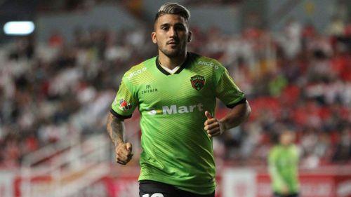Gabriel Hachen, en un juego de FC Juárez