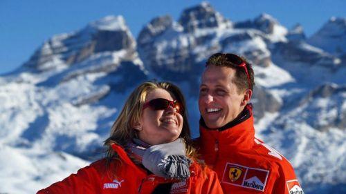 Corinna y Michael durante unas vacaciones en Europa