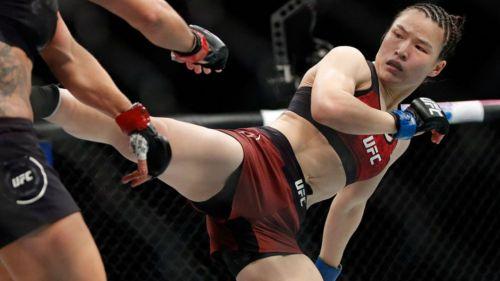 Campeona china de UFC abandonó su país por coronavirus