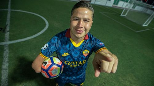Ivan Olalde, un apasionado del futbol