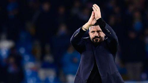 Gennaro Gattuso habló tras el partido contra Barcelona