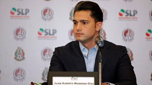 Marrero, en conferencia de prensa