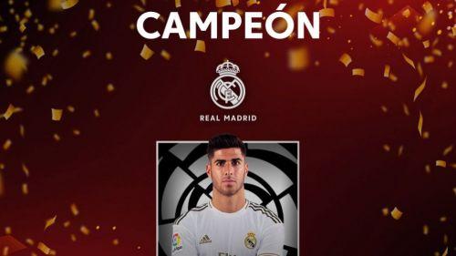 Real Madrid Campeón de FIFA 20 de La Liga
