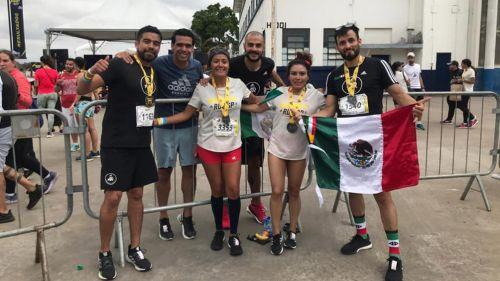 Parte de la comunidad de Adidas Runners en México