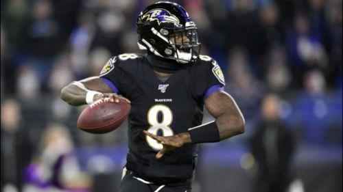 Lamar Jackson, quarterback de los Baltimore Ravens