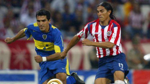Chivas goleó 4-0 a Boca Juniors en el 2005