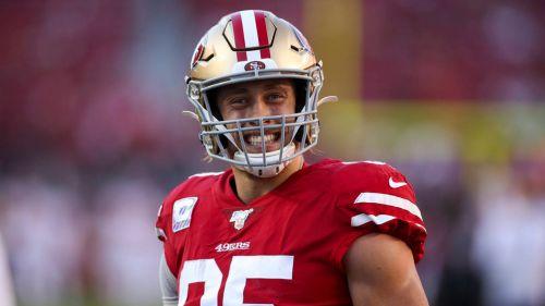 Kittle fue una de las figuras de 49ers en la temporada 2019