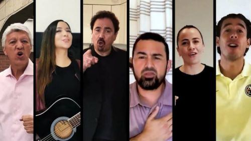 Jesús Ramírez, Hugo Sánchez, Óscar Jiménez, entre otros personajes
