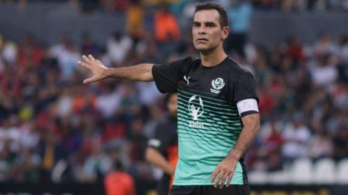 Rafa Márquez durante su partido de despedida en el Jalisco