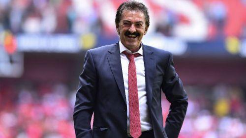 Ricardo Antonio La Volpe como técnico del Toluca