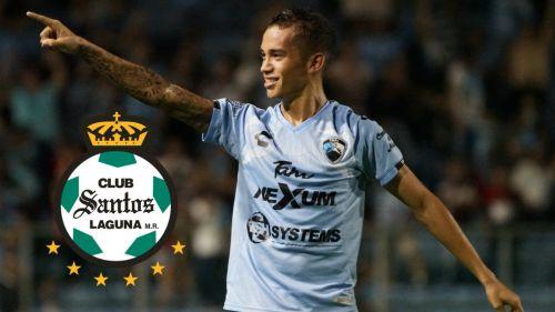 Ronaldo Prieto en festejo de gol