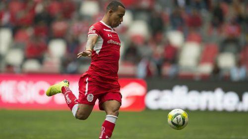 Felipe Pardo jugando con Toluca