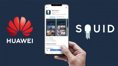 La alianza entre SQUID y Huawei