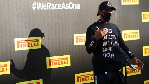 Lewis Hamilton 'alza' la voz en contra del racismo