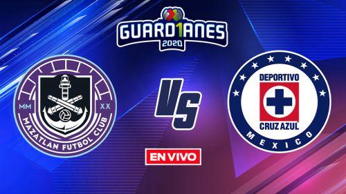EN VIVO Y EN DIRECTO: Mazatlán vs Cruz Azul Guardianes 2020  J11