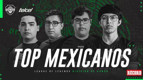 Los mejores 5 mexicanos de la División de Honor de LoL