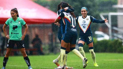 América: El festejo del gol de Jana Gutiérrez