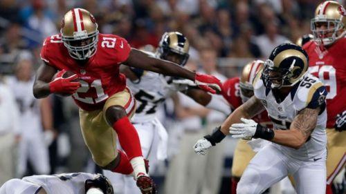 San Francisco enfrentando a los Rams