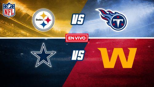 NFL EN VIVO: Pittsburgh Steelers vs Titans Semana 7