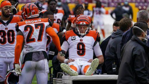 Joe Burrow: Querterback de Bengals se rompió múltiples ligamentos de la rodilla