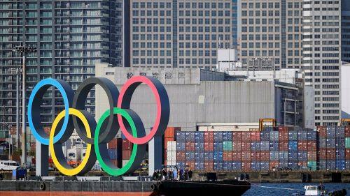 Aros olímpicos en Tokyo