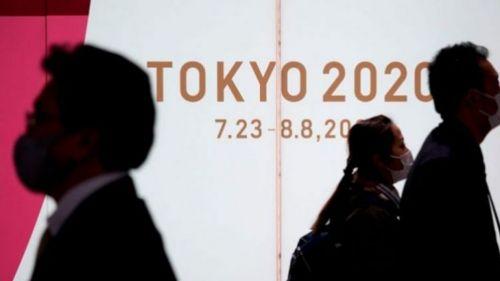Habitantes de Tokio durante la contingencia por el Covid-19