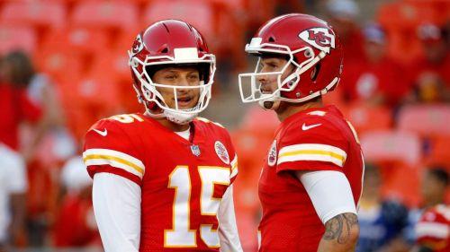 Chiefs en partido de la NFL