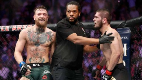McGregor en pelea