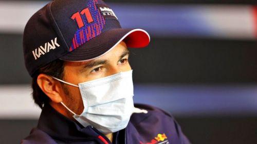 Checo Pérez después del GP de Emilia Romagna