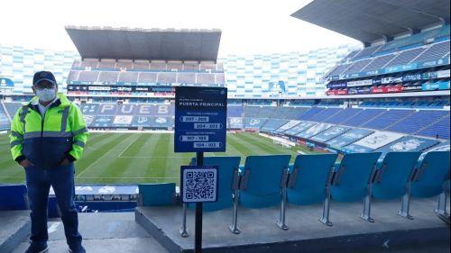 Estadio Cuauhtémoc reabrirá sus puerta