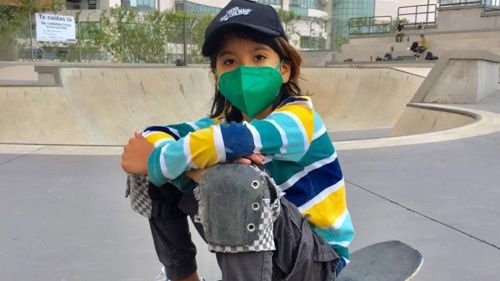 León Chávez vive sus sueños sobre la patineta