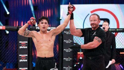 Erik 'Goyito' Pérez tras su victoria
