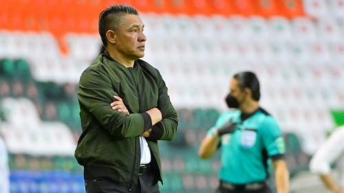 Nacho Ambriz en su último partido con León
