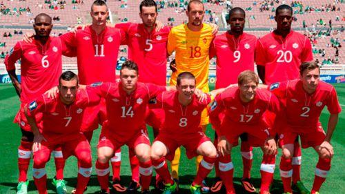 Selección de Canadá, en la última Copa Oro