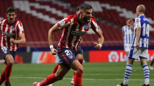 Atlético de Madrid venció a la Real Sociedad