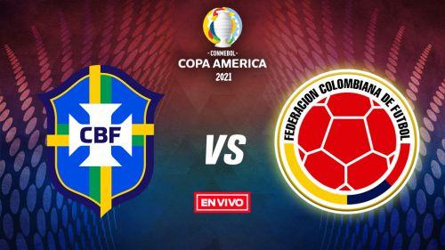 EN VIVO Y EN DIRECTO: Brasil vs Colombia
