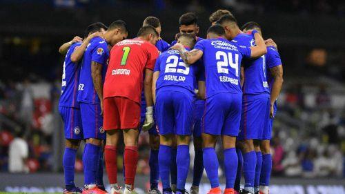 Cruz Azul antes de un partido