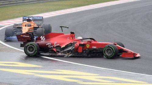 Accidente en el GP de Hungría