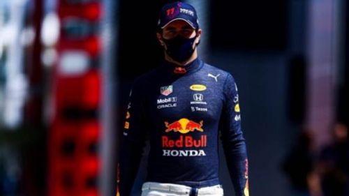Sergio 'Checo' Pérez con Red Bull