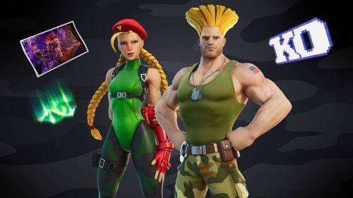Cammy y Guile de Street Fighter llegarán a Fortnite