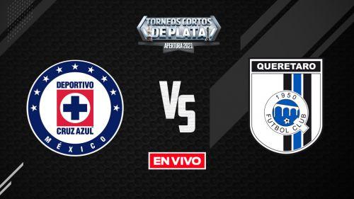 EN VIVO Y EN DIRECTO: Cruz Azul vs Querétaro Apertura 2021 J9